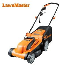 LawnMaster Meb1014K Electric Lawn Mower 15-Inch 11Amp 6 Cutting Positions