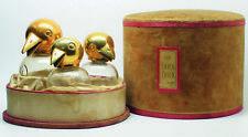 """Rares flacons de collection de Vigny : """"Les chic chic dans leur nid"""""""