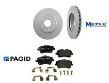 2 Meyle Front Rotors kit Disc Rotor Brake PAGID Pad Set for Mercedes c230 c240