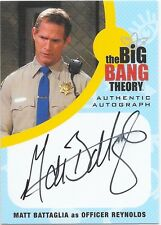 Cryptozoic Big Bang Theory Seasons 6 7 Auto Matt Battaglia as Officer Reynolds