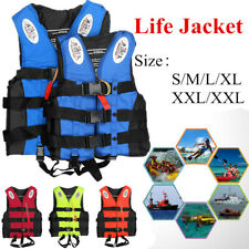 Aid Life Jackets Surfing Boating Drifting Buoyancy Kayak Safety Vest Kids Adults