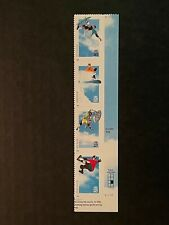US #3321-3324 Extreme Sports Plate (V2222) Strip of 4 Stamps (Free Shipping)