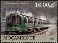 LONDON UNDERGROUND Green Prototype 1986 Tube Stock Train Stamp (2013)