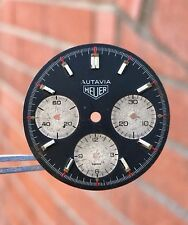 Heuer Autavia Viceroy 73663 Caliber 7736 Three Register Dial ORIGINAL
