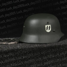 "Dragon German M35 Metal SS Helmet & Liner 1/6 Fit for 12"" action figure"