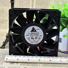 Delta PFC1212DE-PWM 120×120×38MM 12V 4.8A Extreme High Speed PWM Fan 225CFM