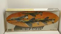 1978 Revell Model Kit US Navy Blue Angels Complete Team (4 planes) in Cello New