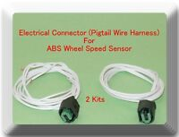 2 Electrical Connector of ABS Wheel Speed Sensor ALS1665 For Nissan Tiida Versa