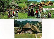 5 AK Deutschland 1971 Baden-Württemberg Schwarzwald