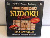 Sudoku extrem Brettspiel inkl. Duell auch alleine Gesellschaft Quiz Knobel 2in1