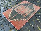 Carpet, Turkish rug, Vintage rug, Handmade rug, Area rug   2,1 x 3,1 ft