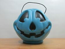 Vintage General Foam Plastics Blue Halloween Pumkin Norfolk Va