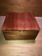 """NO LABELS Wood Cigar Box ACID Drew Estate 7 1//4/"""" x 7 1//4/"""" x 4 3//8/"""" Craft Jewelry"""