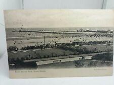 Vintage Postcard North Marine Park South Shields 1908 Posted Valentines