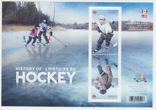 Canada - *NEW* History Of Hockey Souvenir Sheet - MNH