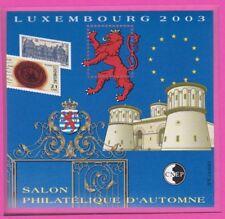 TIMBRE FRANCE BLOC CNEP N°39 **D' AUTOMNE (salon philatélique Luxembourg)
