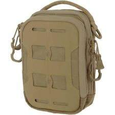 Maxpedition AGR Tactical Compact Admin Pouch Hex Ripstop Army Utility Pocket Tan