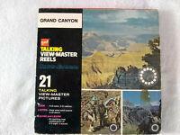 Vintage gaf Talking View-Master Reels Grand Canyon Viewmaster