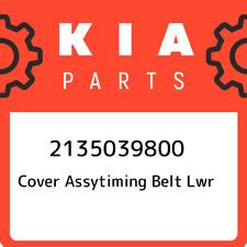 2135039800 Kia Cover assytiming belt lwr 2135039800, New Genuine OEM Part