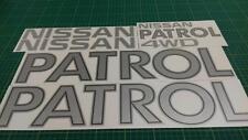 Patrol MQ Datsun Safari ebro decals stickers graphics 4x4  260 160 SD SD33 C200