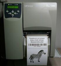 S4M00-200E-0700D Zebra S4M Etikettendrucker LAN Netzwerk USB,