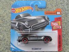 Hot Wheels 2018 #045/365 1955 CORVETTE noir Puis et Know
