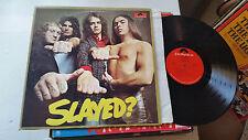 Slade slayed? polydor glam rock original vinyl 1972 STERLING lp rare pd5524 !!