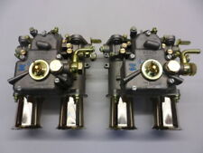 Genuine Pair Weber 45 DCOE 152g Twin Carbs Carburettors & Fuel Unions Adv9