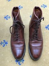 John Lobb Mens Brown Leather Lace Up boots Shoes UK 9 US 10 EU 43