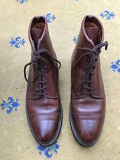 John Lobb Mens Brown Leather Lace Up boots Shoes UK 9 US 10 EU 43