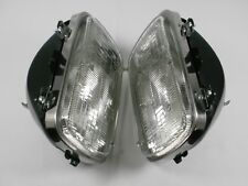 PAIR SEALED BEAM HEADLIGHTS with BUCKETS CHEVY GMC Pickup C1500 K1500 C/K TRUCK