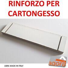 5 PEZZI - RINFORZO PARETE CARTONGESSO IN LEGNO (X CTG PASSO 60CM) X IRROBUSTIRE