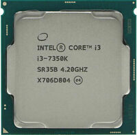 Intel i3-7350K 4.2GHz SR35B 2-Core HD 630 60W  LGA1151 CPU Processor