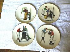 """Rockwell Gorham Fine China, 10.5""""Plate, """"A Helping Hand"""""""
