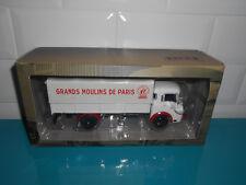 camion d'autrefois LATIL H14A-H16A Plateau baché moulins Paris 1/43 ixo altaya