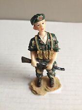 K's Collection Soldier Hand Painted Figurine