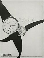 1966 Tiffany & CO. wrist watches 1854 timepieces vintage photo print ad adl84