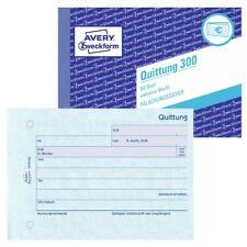 Avery Zweckform Quittung Quittungsblock 300 inkl. MwSt DIN A6 quer 50 Blatt