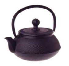 TopStyle Cast Iron Teapot Black 0.5L