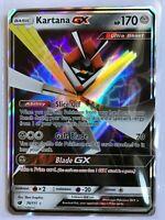 Kartana GX ULTRA RARE 70/111 SM Crimson Invasion Card Pokemon TCG NM Holo