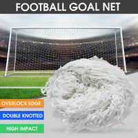 Football Soccer Goal Post Nets 6x4ft 8x4ft 8x6ft 12x6ft  Replace Goals Net