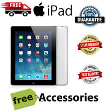 Apple iPad 4th Gen 16GB 32GB 64GB  WiFi/Cell 4G Unlocked iOS 10