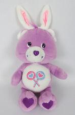 "Share Care Bear Bunny Ears 11"" Plush TCFC  Stuffed Animal 2003 Easter"