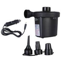 12V Electric Air Pump Blower Pump Car Pump Inflatable Boat Pump Ball Pump Black