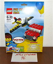NEW SEALED LEGO 66373 CREATOR FUN FAVE PACK BIRTHDAY PARTY 4 SETS AIRPLANE CAR