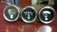 IH Farmall H, M, W,S, SH, M, SM, SMD, SMTA, W, SW Temp Oil Pr Ampere SET-3pc