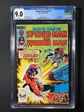 Marvel Team-Up #136 CGC 9.0 (1983) - Spider-Man & Wonder Man
