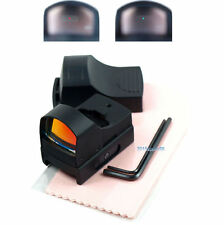 Hunting Micro Reflex Dual Red Green Dot Sight Scope with Picatinny Weaver Rai 22