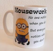 Personalised Minion Mug, coffee cup, Birthday Gift, Minions Despicable Me