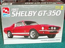 AMT 1967 FORD MUSTANG SHELBY GT350 PLASTIC MODEL KIT 1/25 SKILL LEVEL 2